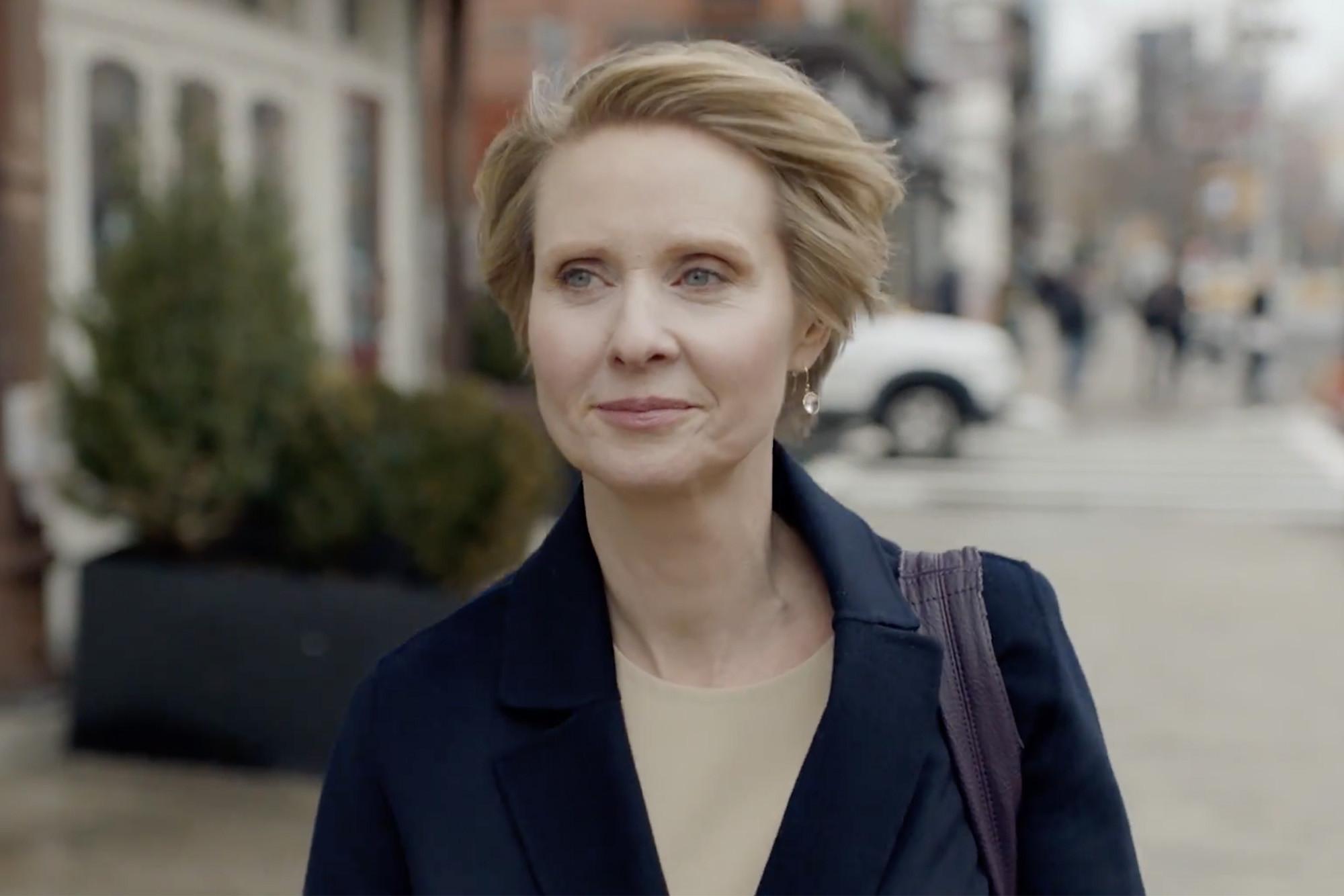 Sex and the city star cynthia nixon announces new york gubernatorial bid