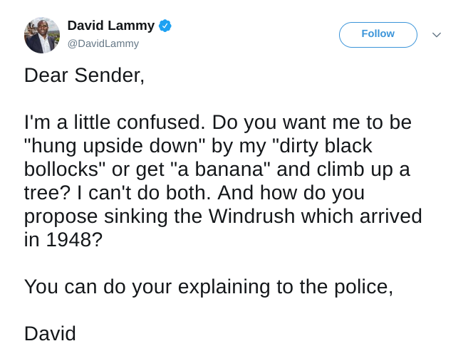 REVEALED: Labour's David Lammy 'FAKES' Racist Hate Letters