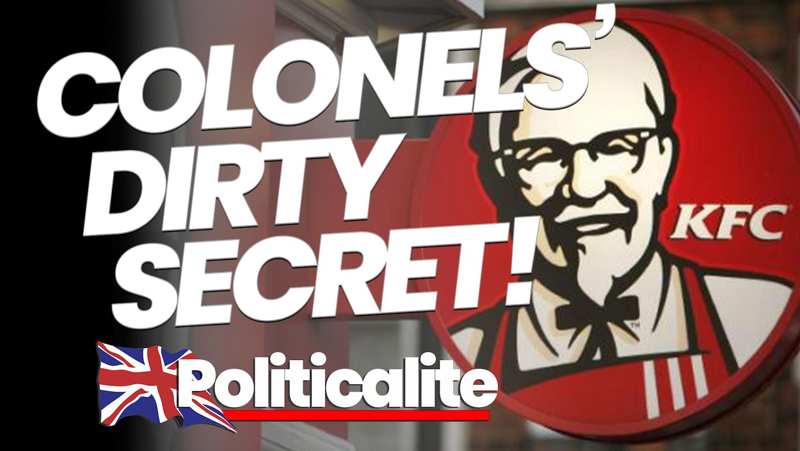 KFC Deletes Tweets To Hide UK-Wide Halal Scandal Exposed by Politicalite