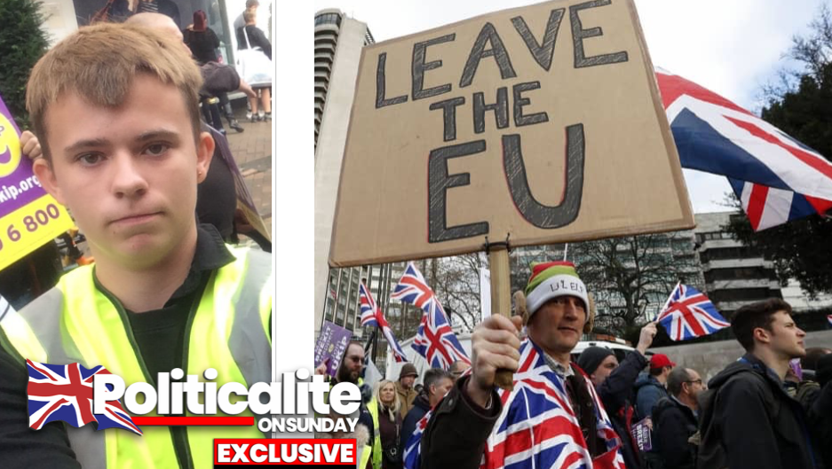 THEY'RE NOT ALL REMAINERS! Meet the Working-Class 17-YEAR-OLD Fighting For Brexit