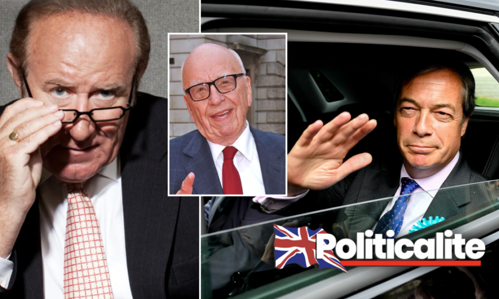 HE'S BACK: Murdoch Teams Up With Farage, Neil To 'Launch British News Channel in 2021' - Politicalite UK