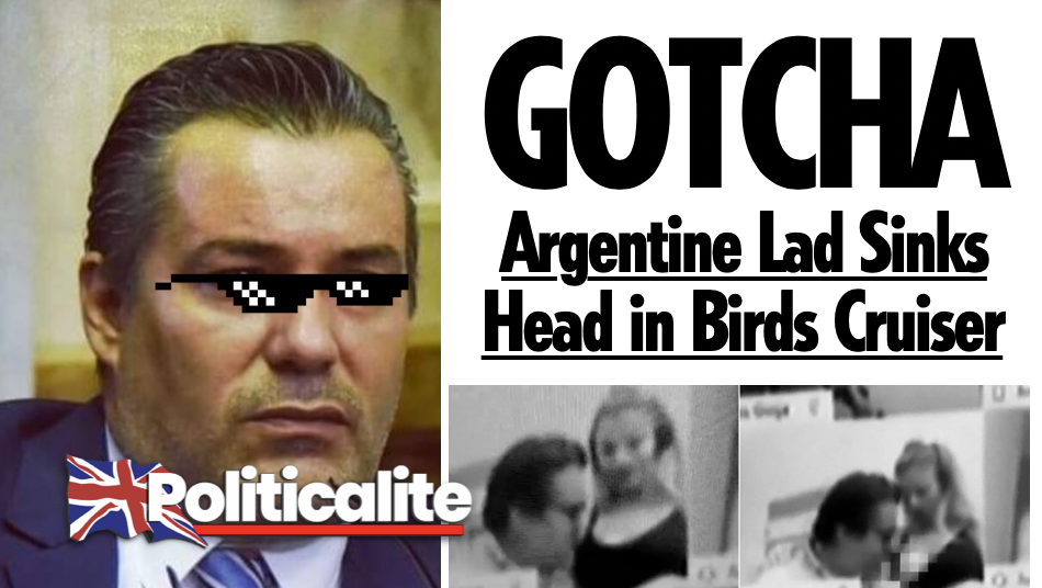 GOTCHA: Argentine MP 'Motorboats' Partners Breasts during Zoom to Congress