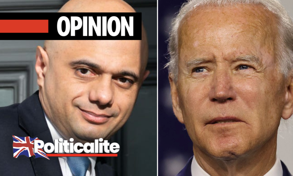 OPINION: No, Mr. Javid. Britain WOULDN'T Be 'Better Off With Biden'