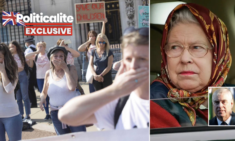 EXCLUSIVE: Conspiracy Theorists Claim 'Queen evacuated from London over Epstein Riot Fears'